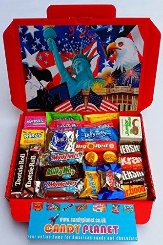 american-hersheys-retro-chocolate-sweets-candy-present-hamper-reeses-mini-bite-fun-size-bars-retro-s