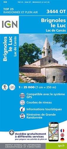 3444ot Brignoles/le Luc par Ign