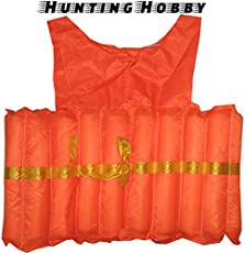 Hunting Hobby Swimming Jacket/Learners Personal Flotation Device for Beginners for Boating, Drifting, Water Sports, Survival (medjacket)