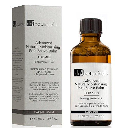 DR BOTANICALS Aftershave Balsam Pomegranate Noir Advanced Natural For Men 50 ml -