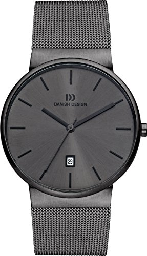 Danish Design Men's Quartz Watch with Grey Dial Analogue Display and Stainless Steel Anthracite - IQ64Q971