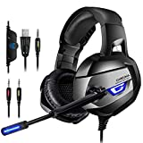 Casque Gaming Xbox One - ONIKUMA Casque Gaming pour PS4, Xbox One,Nintendo, PC,...
