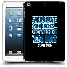 Official WWE Stomping Mudholes Steve Austin Soft Gel Case for Apple iPad mini 1 / 2 / 3