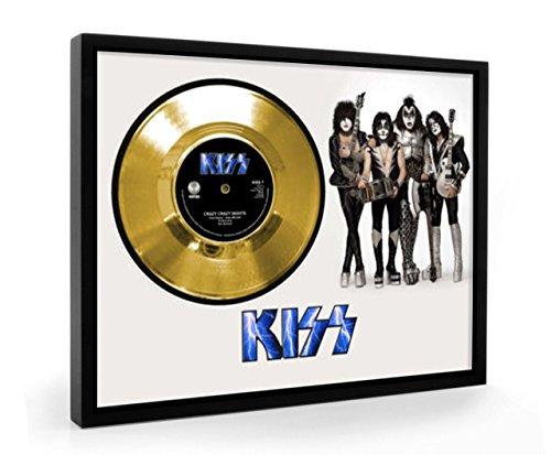 Kiss Crazy Crazy Nights Framed Goldene Schallplatte Display Vinyl - Vinyl Nights Crazy Kiss