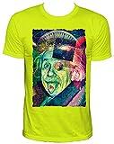NEON Einsteins secret Party Herren T-Shirt,neongelb,XXL