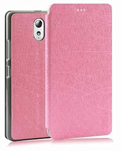 redmi note 3 flip cover with video stand premium luxury pu leather flip cover for xiaomi redmi note 3 - pink  available at amazon for Rs.149