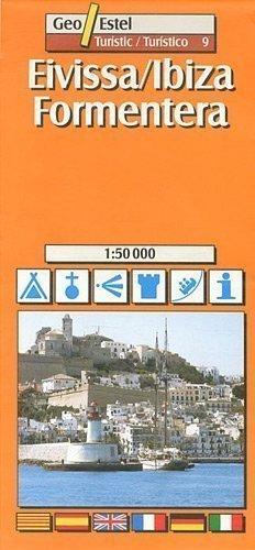 Ibiza, Formentera Tourist Map 1:50, 000 (Tourist Maps) Revised Edition by Geo Estel published by SGIT Geoestel SA (2004)