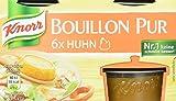 Knorr Bouillon Pur Huhn Brühe 6 x 28 g, 4er-Pack