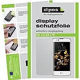 dipos I 2X Schutzfolie matt passend für LG K8 LTE Folie Displayschutzfolie