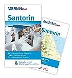 MERIAN live! Reiseführer Santorin: MERIAN live! - Mit Kartenatlas im Buch und Extra-Karte zum Herausnehmen - Lasse Dudde