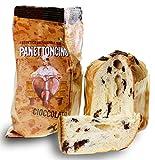 Panettone italienischer Kuchen Schokolade