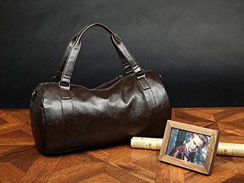 RTZLL Weibliche Sporttasche Sporttasche der Mann Training Zylinder Umhängetasche Handgepäck Taschen, Reisetaschen, lässige Umhängetasche 1