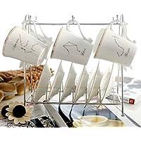 KHSKX Creative bone china tazze da caffè
