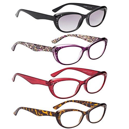 /¡/ Gray, 3.50 LianSan Rimless reading glasses men fashion womens frameless readers glasses reading eyeglasses 5017