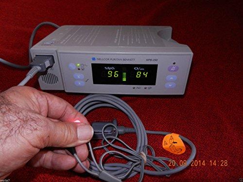 NELLCOR PuritanBennett NPB290 SpO2 Pulsoximeter+Fingersensor