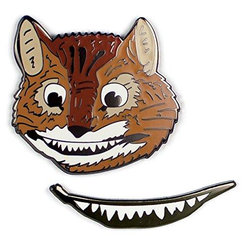 Grinsekatze - Cheshire Cat Pins | (Cat Kostüme Alice Im Cheshire Wunderland)