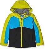 Ziener Kinder ABORO Jacket ski Skijacke, Black, 152