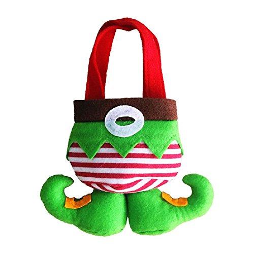 Cosanter Weihnachten Elf Süßigkeiten Taschen Geschenkesack Weihnachtsmann Geschenktüte Weihnachtsgeschenk Weihnachten Dekoration