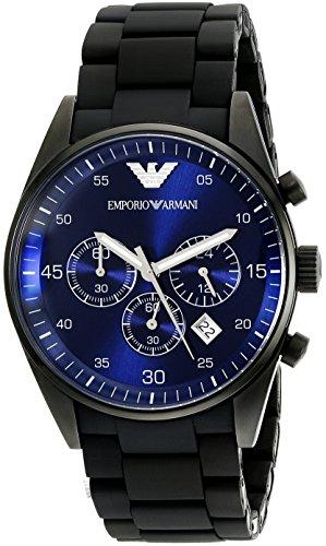 Emporio Armani Herren-Armbanduhr XL Chronograph Edelstahl AR5921