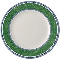 Villeroy & Boch Switch 3 Costa Frühstücksteller, aus ansprechendem Hartporzellan, 21 cm Teller, Porzellan, Grün