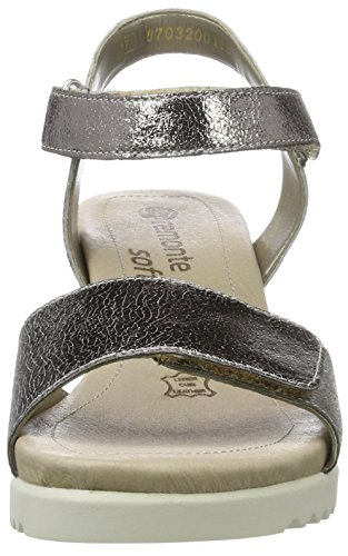 Remonte Damen D3455 Knöchelriemchen Silber (platin/91)