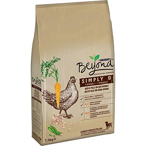 Purina Beyond Pienso Natural para Perro Adulto Pollo y Cebada Integral 7,5...