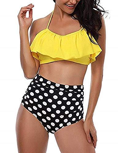 UMIPUBO Bikini Conjuntos Mujer Push up Impresión