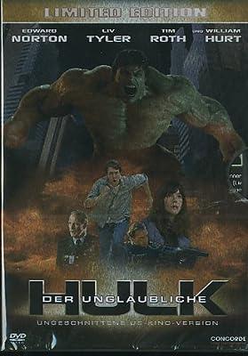 Der unglaubliche Hulk - Limited Steelcase - US Uncut Version