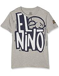 El Niño 13028 Camiseta, Niños, Gris (Gris Piedra), 16 años