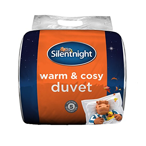 Silentnight Warm and Cosy 13.5 Tog, White, King