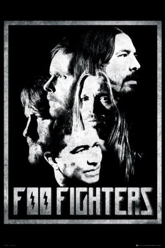 GB eye, Foo Fighters, Group, Maxi Poster, 61x91.5cm