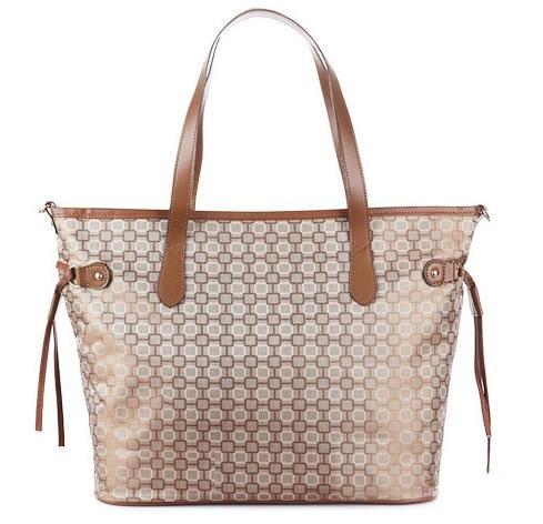 ZYT Stilvolle multifunktionale Jacquard Mumie Tasche Handtaschen c
