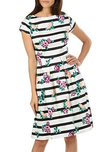 Sugarhill Boutique -  Vestito  - A righe - Maniche corte  - Donna Multicolore
