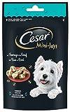 CESAR Mini-Joys - Récompenses au Fromage et au Bœuf, pour Chien, 6 Sachets de 100g de Friandises