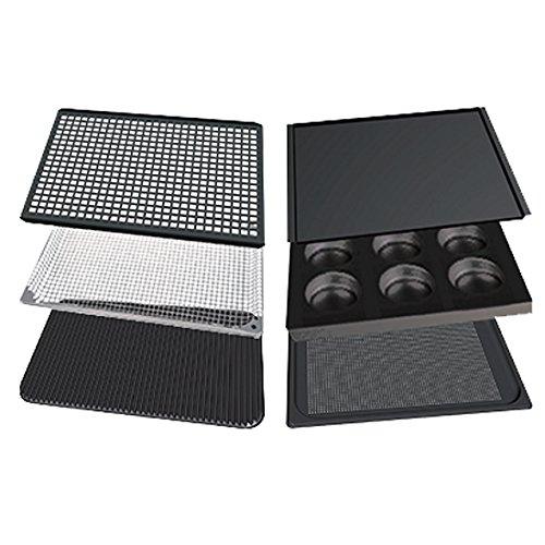 Cooking Essentials (UNOX Backblech Cooking Essentials start-up set GN 1/1 (Set mit 6 unterschiedlichen Blechen))