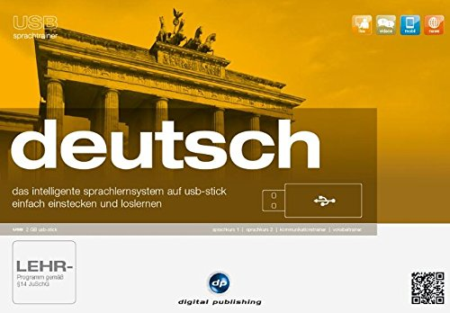 usb sprachtrainer deutsch: das intelligente Sprachlernsystem auf usb-stick.einfach einstecken und loslernen / Paket