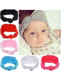 44dbe3b2c2e Bandeaux en coton de cheveux pour bébés
