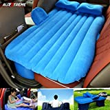#7: AllExtreme Multifunctional Inflatable Car Mattress for Rest,Traval, Leisure and Entertainment- Car Back Seat Travel Air Inflation Bed Universal SUV Extended Air Couch with Two Air Pillows, Car Air Pump and Repair Kit (Blue)