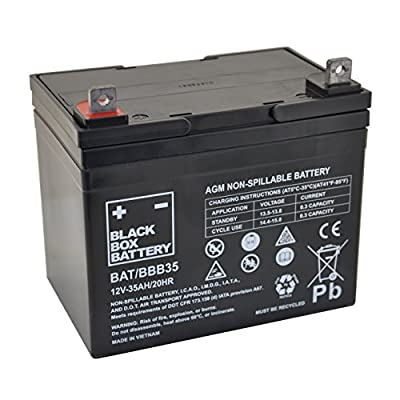 12V 35Ah BBB Sealed Lead Acid (AGM) Mobility Scooter Battery