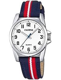 Calypso Niños Reloj De Pulsera Cuarzo Reloj analógico reloj de plástico con material Mix de banda todos los modelos k5707, variante: 03