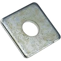 Scheibe DIN 436 Stahl galvanisch verzinkt vierkant 39 - 25 Stück