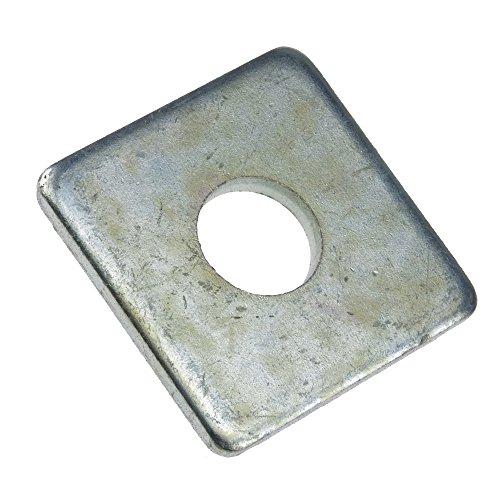 Scheibe DIN 436 Stahl galvanisch verzinkt vierkant 13,5 - 100 Stück