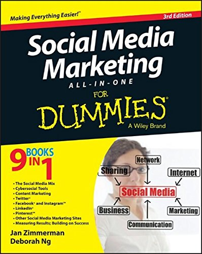 Social Media Marketing All-in-One For Dummies por Jan Zimmerman