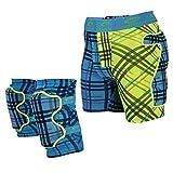 Spokey® - Set di protezioni da snowboard: pantaloncini e ginocchiere, Blu (blu), s