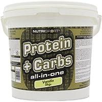 Nutrisport Protein + Complex Carbs Vanilla 5kg