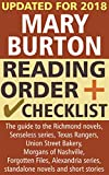 Mary Burton Reading Order and Checklist: The guide to the Richmond, Senseless, Texas Rangers, Union Street Bakery, Morgans of Nashvlle, Forgotten Files, Alexandria series and standalone novels