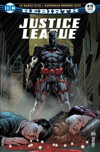 Justice League Rebirth 11 ''Le badge'' 2/2
