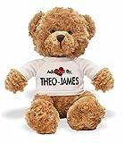 AdoptedBy TB1Theo-James Ours en Peluche Portant Un t-Shirt Nom personnalisé