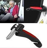 Car Handle | PKW Ein- und Ausstieghilfe mit Licht | Gurtschneider | Hammer für die Autoscheibe |