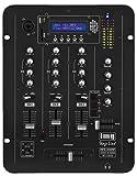 IMG Stage Line MPX-30DMP Stereo DJ Mischpult mit integriertem MP3-Spieler schwarz